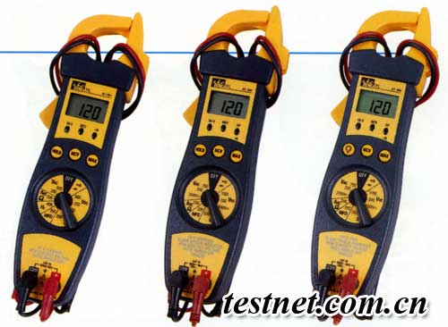 1% - - 200a 钳表/万用表 测量配电盘电路或插座中各种电气参数 谐波